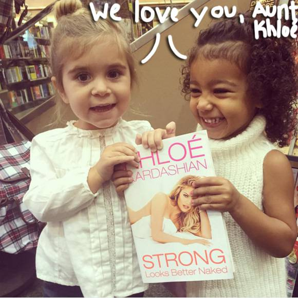 North West& Penelope Disick Continue Ailing KhloA( c) Kardashian's Book Promo Tour With This Adorable Snap!