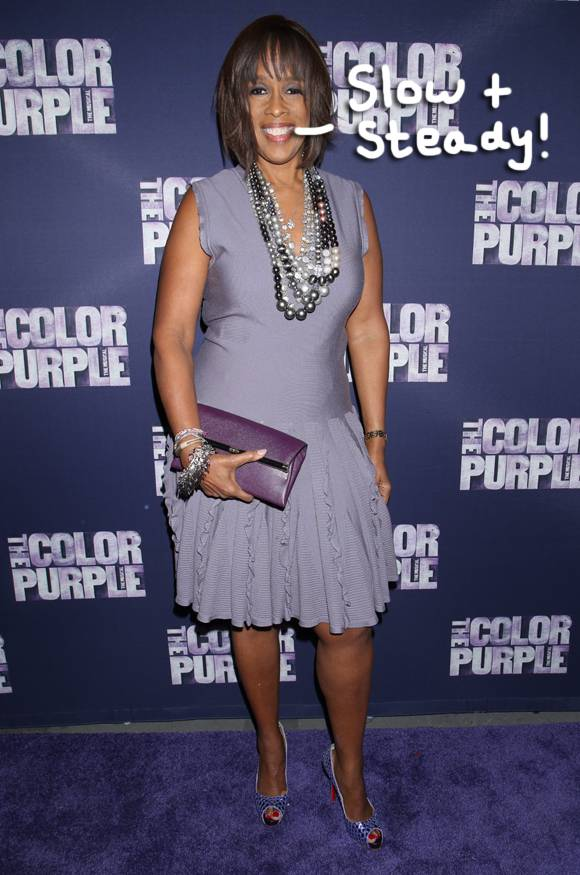 "Gayle King Opens Up About Her Weight Loss Journey aEUR"" Says 'Slow& Steady Wins The Race'!"