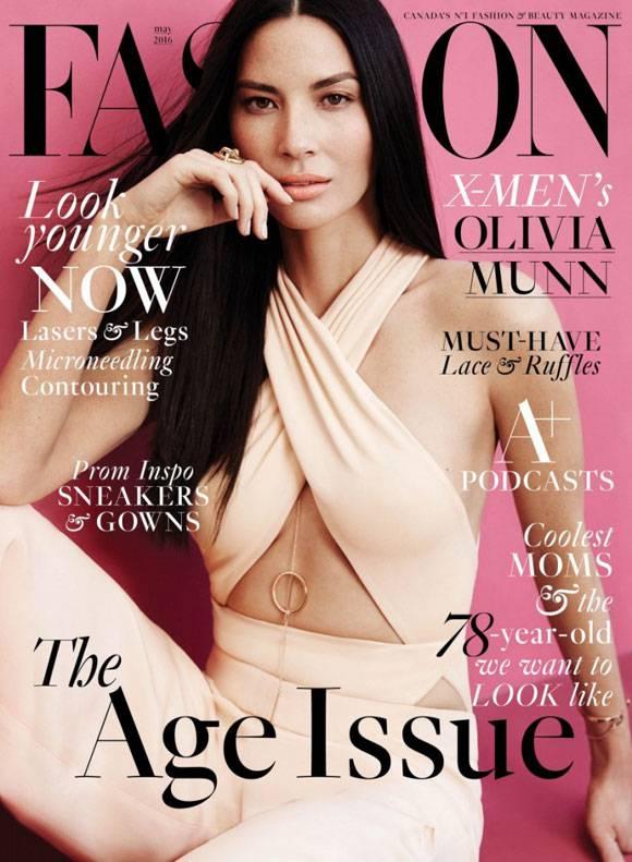 Olivia Munn Slams Plastic Surgery Rumors In The Latest Issue Of Fashion Mag!