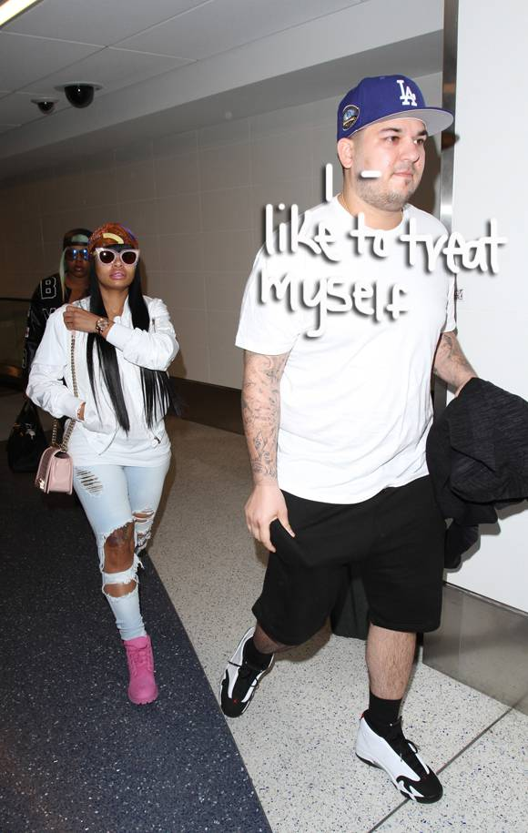 Rob Kardashian Spills On His Recent 'Cheat Days' While Showing Off His Impressive Weight Loss At LAX!