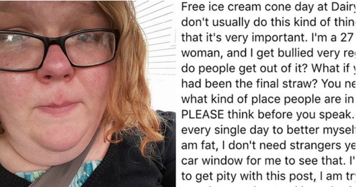 Woman Gets Incredible Response After Sharing Her 'Fat Shaming' Story