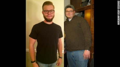 100-pound weight loss helps 'broken' man rebuild