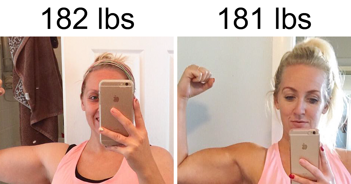 Mom's Dramatic Before-And-After Pics Of 2 Pound Weight Loss Prove That Weight Is A Lie