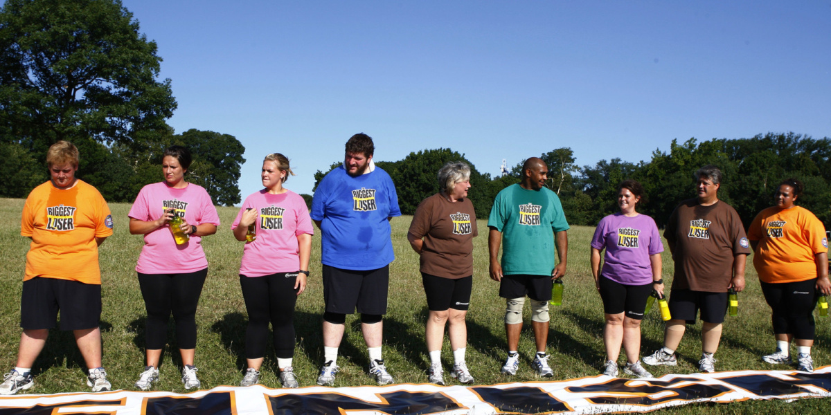 'The Biggest Loser' Study Proves Weight Loss Isn't About Willpower