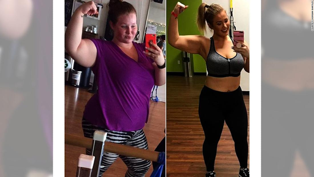 Young woman uses Instagram to help her lose weight