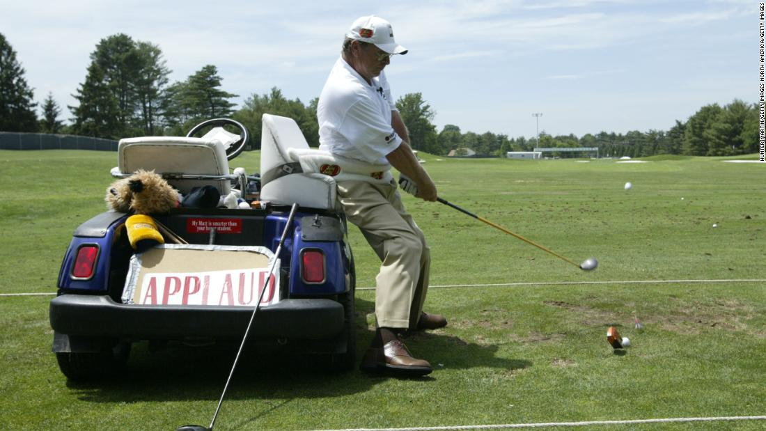 The life of golf trick shooting artist Paul Barrington