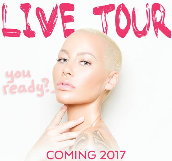 Amber Rose Is About To Take Her Sexy Act On The Road With A 2017 LIVE Tour! Find Out How To Get Muva In YOUR Town!