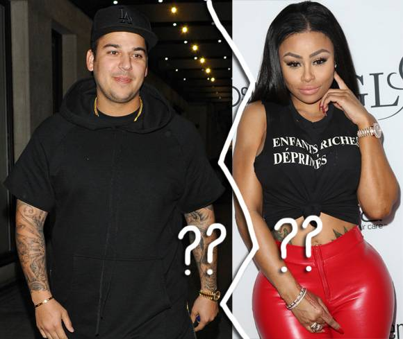 Did Rob Kardashian And Blac Chyna Just Break Up?! See The Evidence HERE!