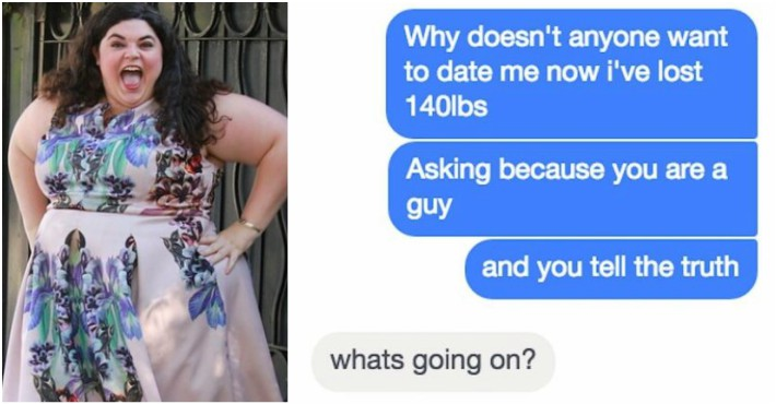 Woman Can't Understand Why Men Are No Longer Interested In Her After Losing 140 Lbs