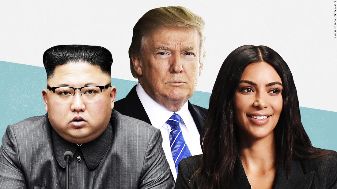 From Kim to Kim: A week in the life of Donald Trump
