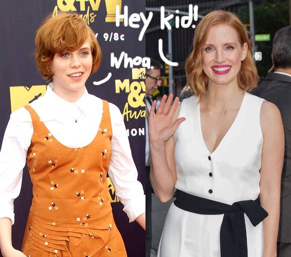 Jessica Chastain Shows Exactly How Much She Looks Like Her Younger Self From IT: Chapter One, And It Is SCARY!