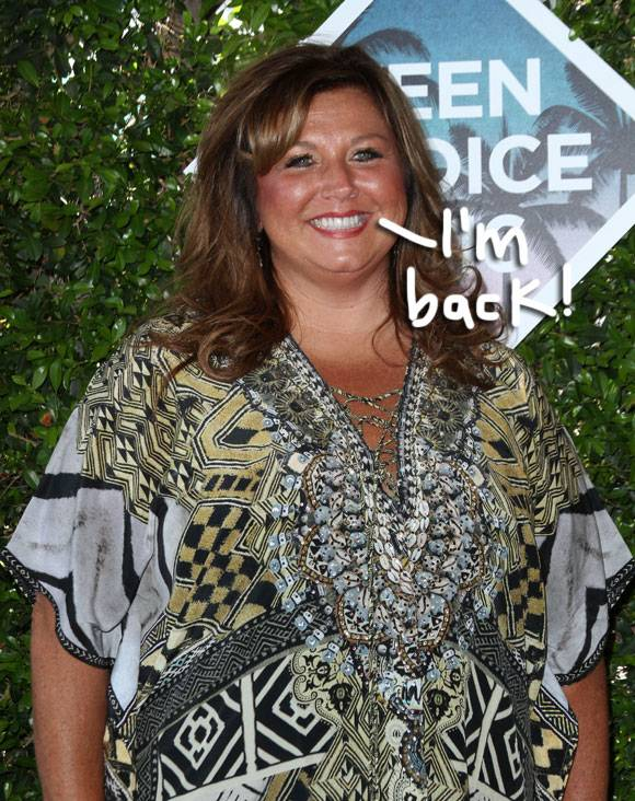 Abby Lee Miller Is Getting Out Of Jail Early… & She's Lost 100 Pounds While Behind Bars!