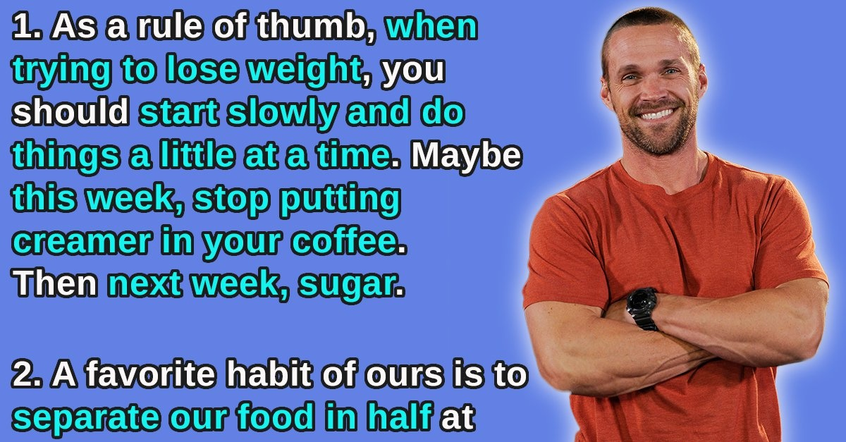 10 Simple Ways to Get Started Losing Weight Without Attaining Yourself Crazy