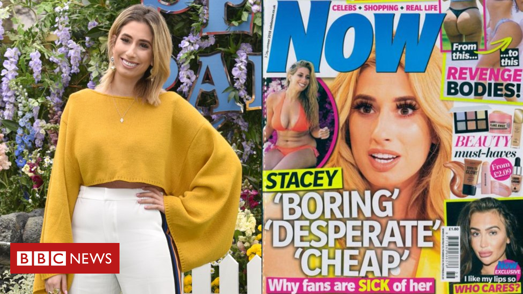 Stacey Solomon and the 'toxic' world of gossip magazines