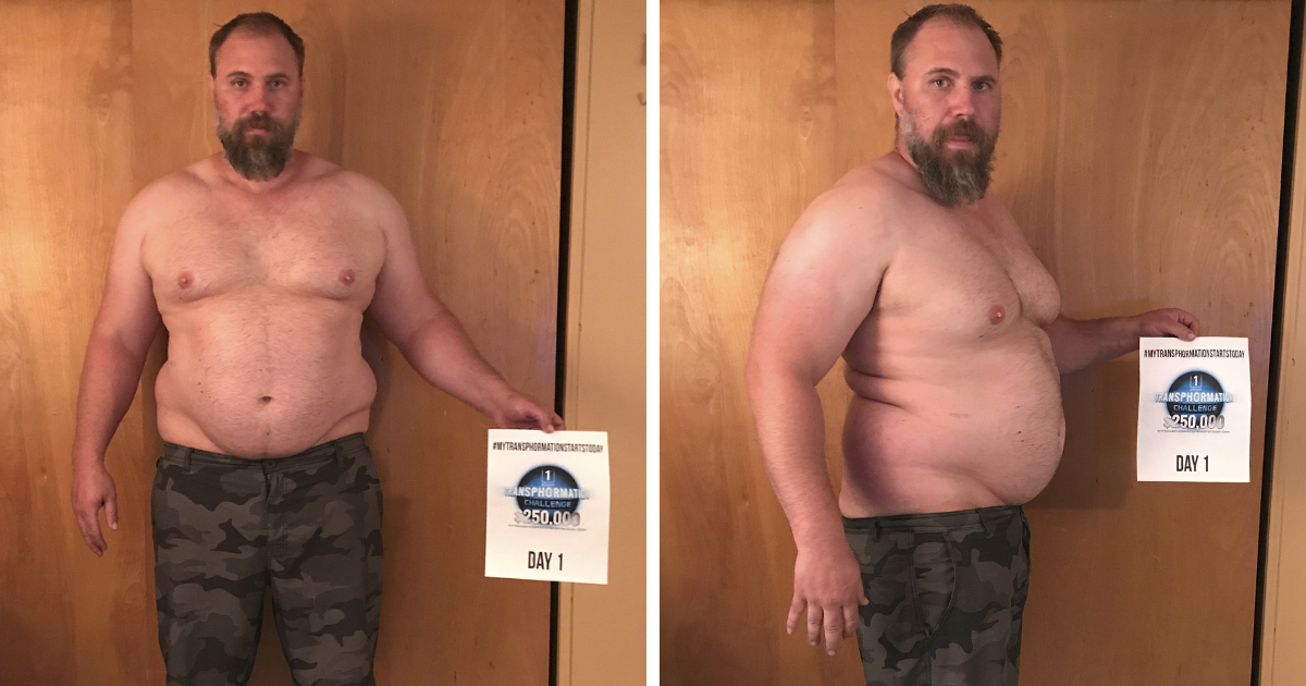 Father-Of-Three Realizes He Can't Keep Up With His Children, Transforms His Body Beyond Recognition In 6 Months