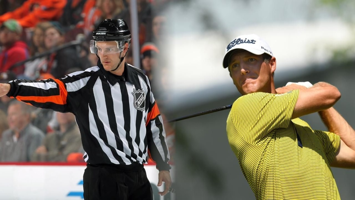 NHL ref, cancer survivor and now US Open qualifier Garrett Rank is ready to make his mark