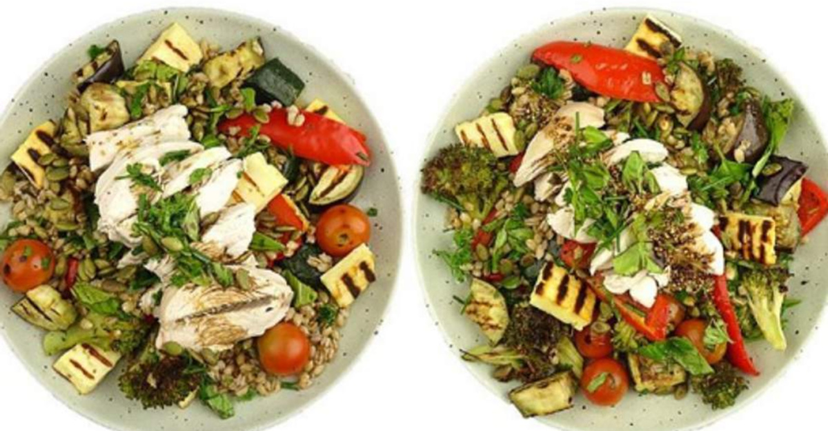 These Two Salads Look Identical, But One Has Double The Calories