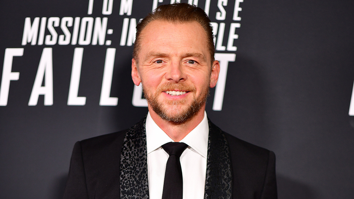 Actor Simon Pegg shows off shocking weight loss