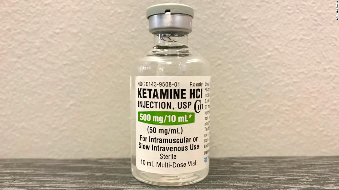 Ketamine offers lifeline for people with severe depression, suicidal thoughts
