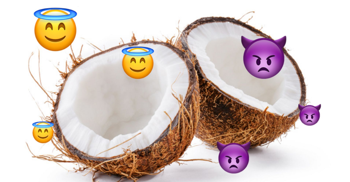 Is Coconut Oil 'Pure Poison'? Here's Everything You Need To Know