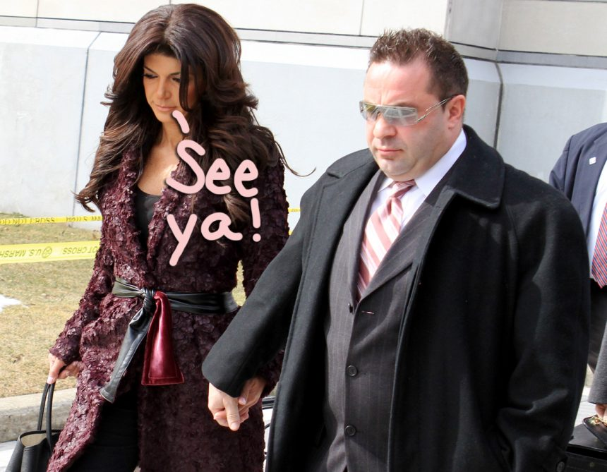 Joe Giudice Is Officially A Free Man - And He's Already Off To Italy - Perez Hilton