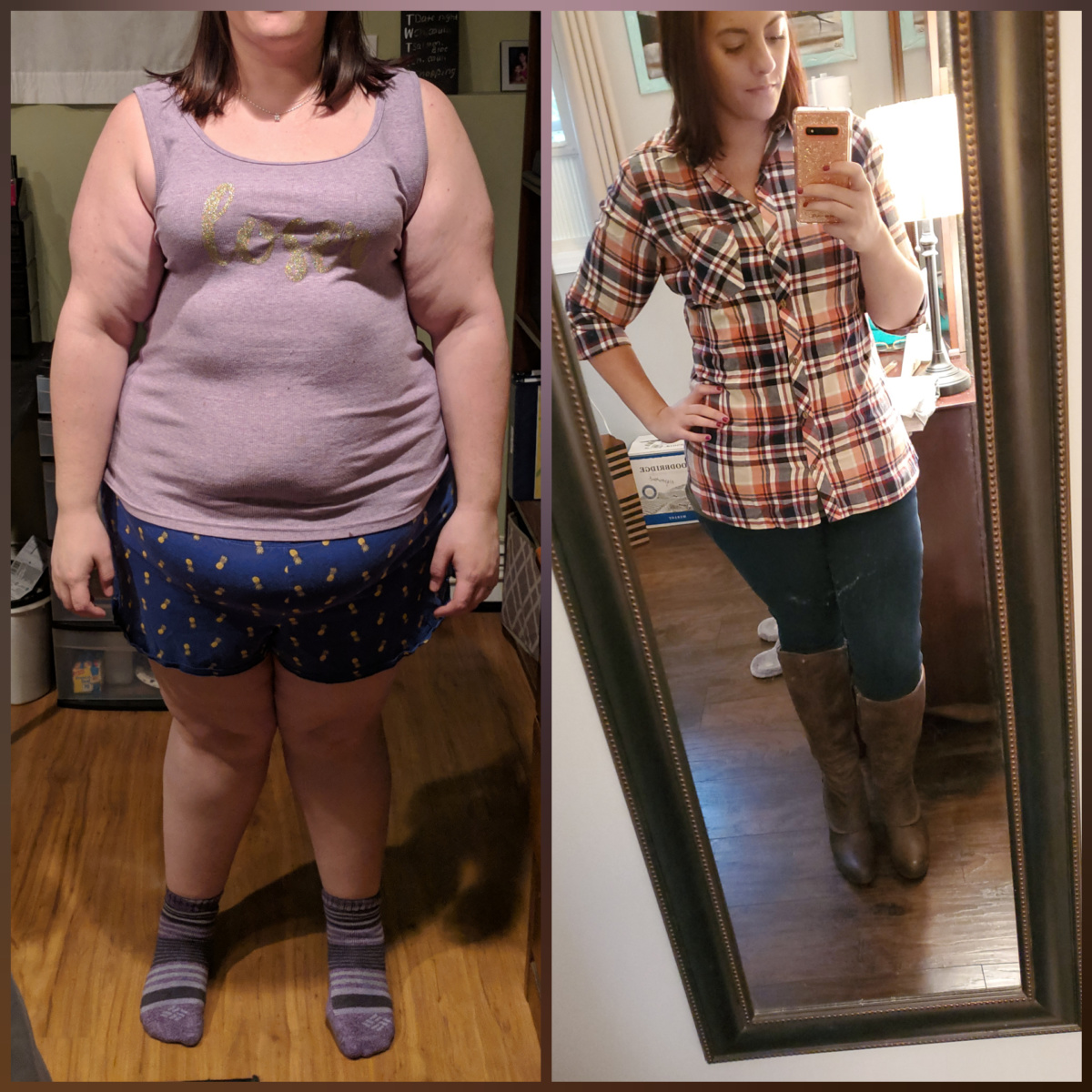 130 lb weight loss – 326 to 195