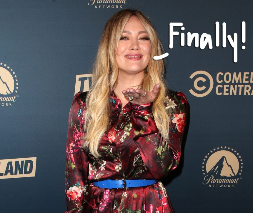 Hilary Duff Flaunts Her Svelte Figure After Getting Her 'Pre-Baby Body' Back - LOOK! - Perez Hilton