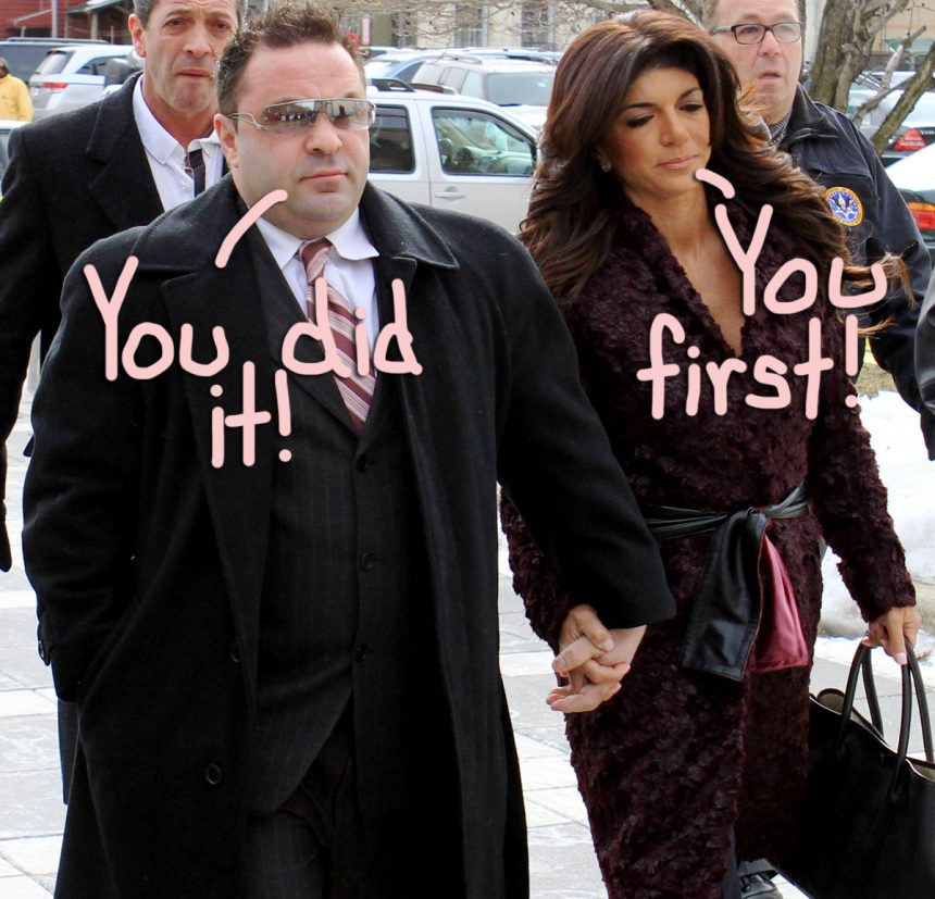 Teresa & Joe Giudice Accuse Each Other Of Cheating! - Perez Hilton