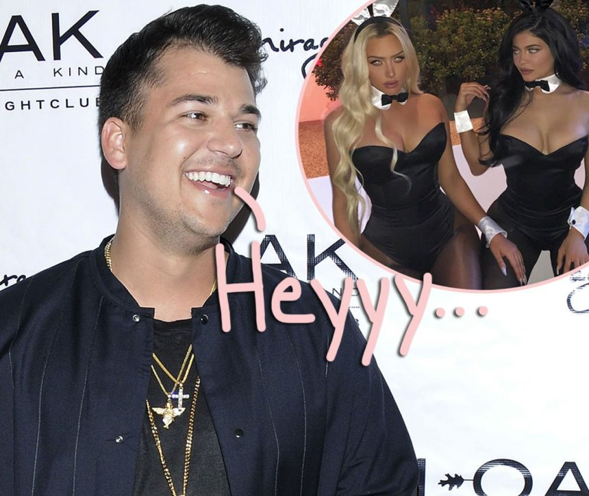 Rob Kardashian Sparks Relationship Rumors With... Kylie Jenner's Best Friend?! - Perez Hilton