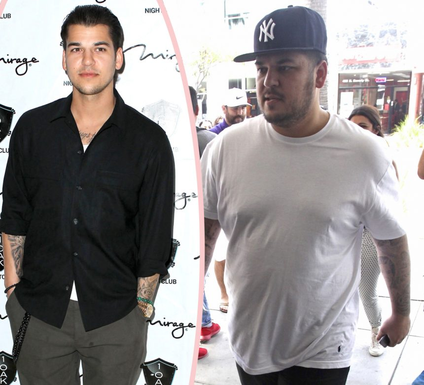 Rob Kardashian May Move Into Live-In Weight Loss Facility - Perez Hilton
