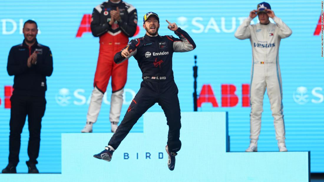 Sam Bird wins first race of new Formula E season in Saudi Arabia