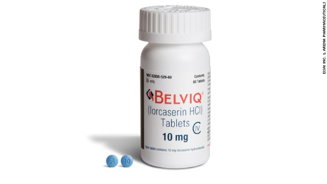 Weight loss drug Belviq tied to 'possible increased risk of cancer,' FDA says