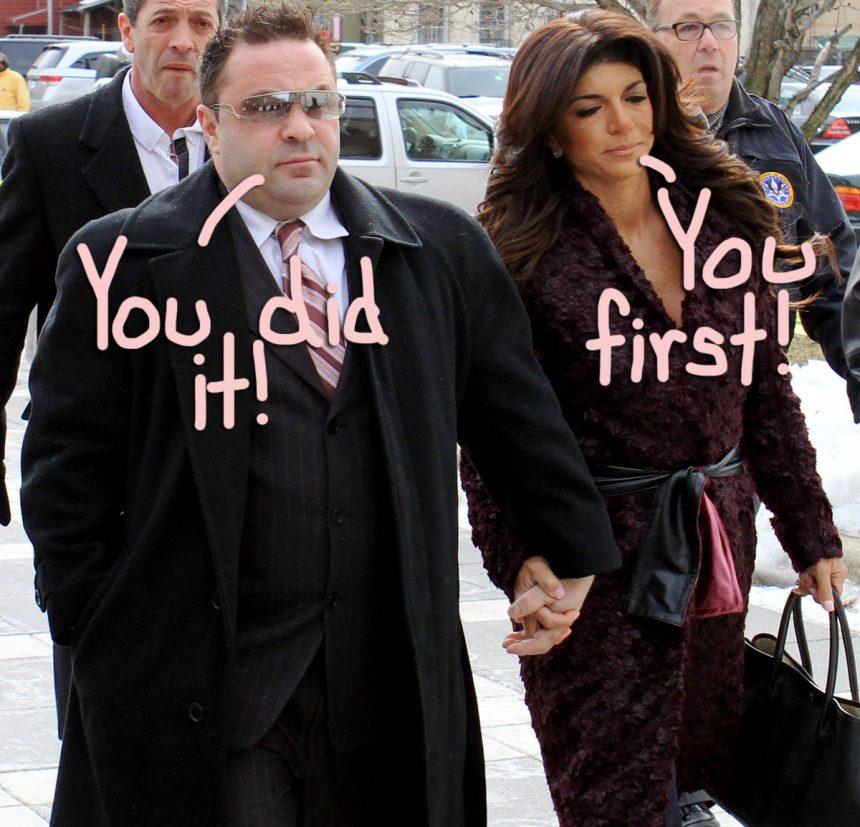 Teresa & Joe Giudice Accuse Each Other Of Cheating! - Perez Hilton