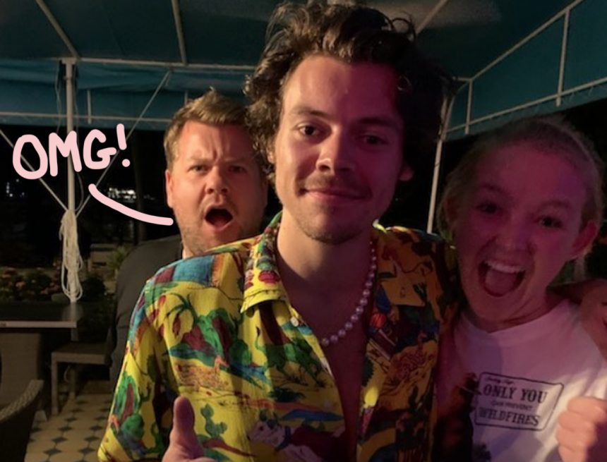 Harry Styles Leaves $2,020 Dinner Tip During Island Vacay Night Out With James Corden! - Perez Hilton