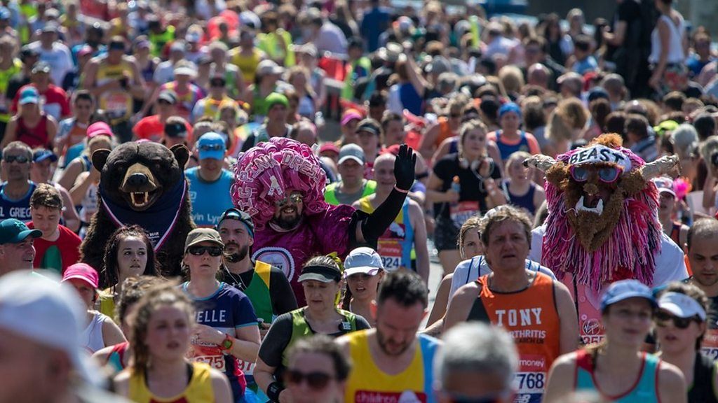 London Marathon hottest on record