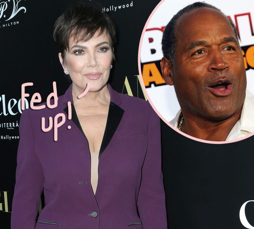 Kris Jenner Breaks Down Over Rumors She Had An Affair With O.J. Simpson: 'It's Just Lie After Lie' - Perez Hilton