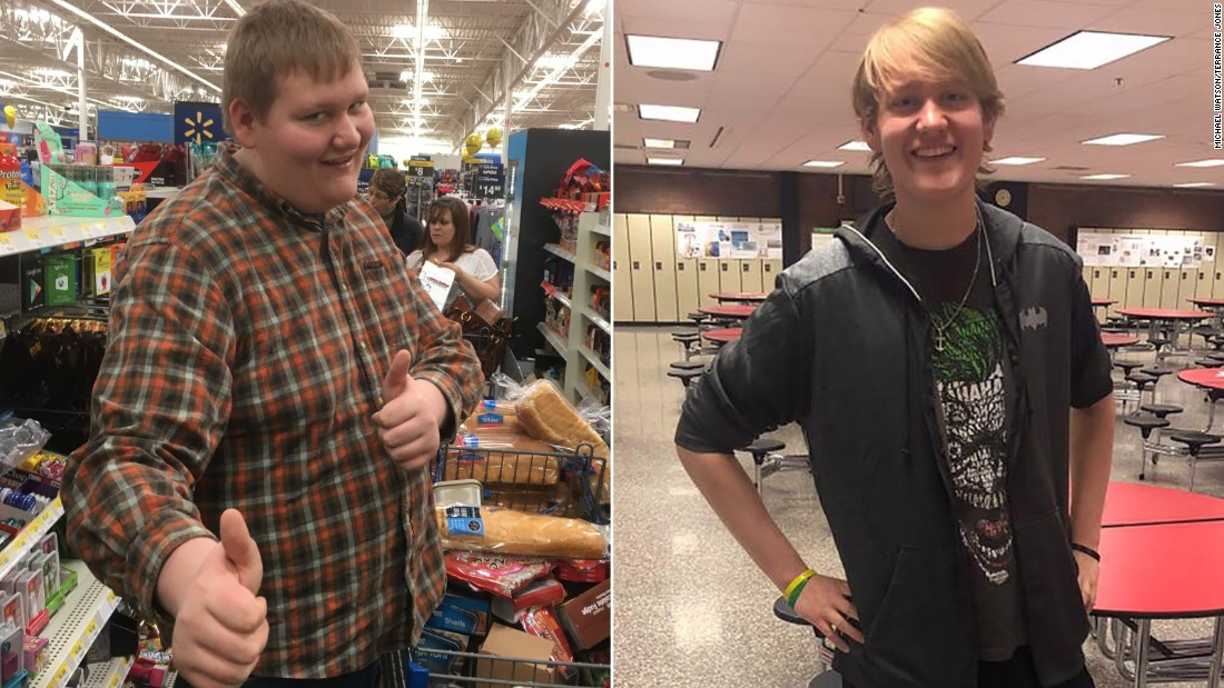 Ohio teen loses more than 100 pounds while strolling to school every day