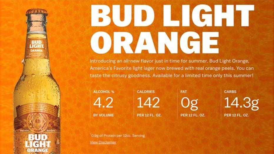 Anheuser-Busch debuts summery new Bud Light Orange