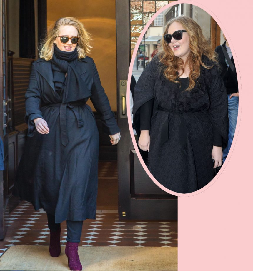 The REAL Reason Adele Lost All The Weight! – Perez Hilton