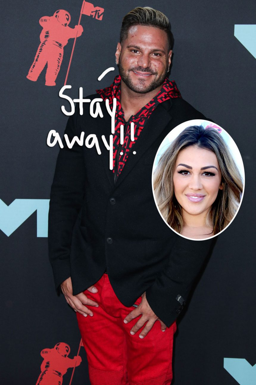 Ronnie Ortiz-Magro Granted Protection Order Against Jen Harley After She Allegedly 'Viciously' Assaulted Him – Perez Hilton